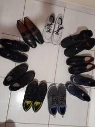 Lote calçados masculino de diversas marcas