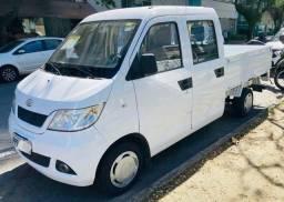 Título do anúncio: Pick-up Cab. Dupla (completa +900kg carga)