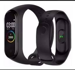Relógio Smartwatch Medidor Inteligente Pulso Fr Cardíaca M4