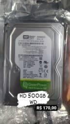 HD 500GB novo