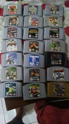 Nintendo 64, jogos, console, controles