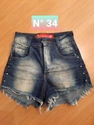 Calças e shorts Tam 34