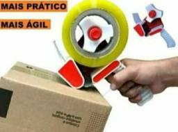 Título do anúncio: Suporte Aplicador Fita Adesiva Durex Largo 50mm Fechar Caixa. MELHOR COISA