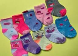 Título do anúncio: Kit 3 pares de meias Infantil