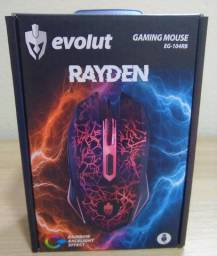 Mouse Gamer Rayden Efeito Rgb 7 Cores / 4 Níveis De Dpi /usb