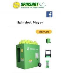Máquina de Lançar Bola de Tênis