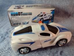 Carro de polícia Transformers
