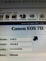 Canon 7D usada