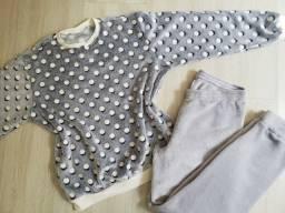 Pijama adulto fleece