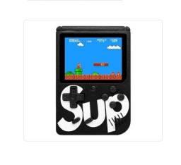 Mini Game portátil com 400 jogos para as crianças se divertirem