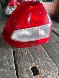Lanterna Traseira Fiesta 2001/2003 Bicolor Lado Esquerdo