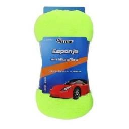 Título do anúncio: Esponja para lavar em microfibra ideal para carros, motos, barcos