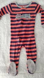 Pijama macacão Carter's 2T