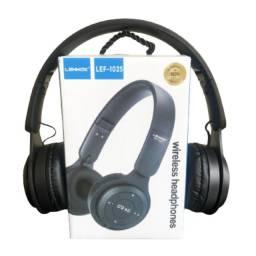 Fone De Ouvido Headphone Bluetooth Lehmox Preto/Branco