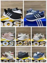 Tênis Adidas, Nike e New Balance