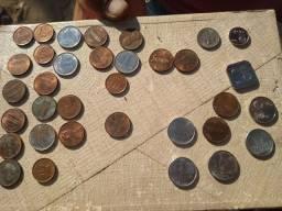 Reliquias 1°(s) moedas nacionais