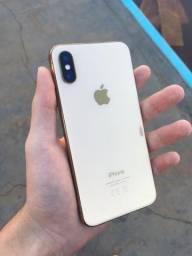 iPhone XS dourado 64 gigas usado