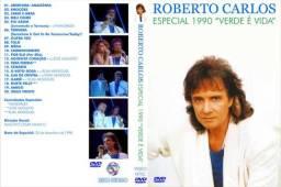 DVDs Roberto Carlos Especiais de Fim de Ano HD 90 a 2003