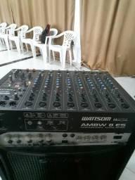 Mesa de som 8 canais watisom