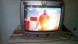 TV tubo Semp Toshiba lumina 14 polegadas linda novinha