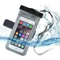 Bolsa Capa Celular Prova D`água Universal - NOVA