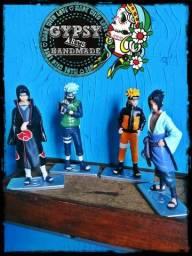 Actions figures Naruto / Kakashi / Itachi / Sasuke