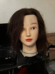 Cabeça de boneca para alunos cabeleireiro