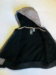 11a8437b150d7 Jaqueta Infantil Masc  Capuz Zara Kids 3 4 Anos - Usada Mas novinha