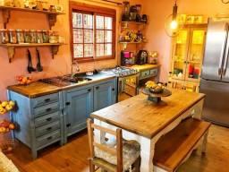 Cozinha Americana em Madeira