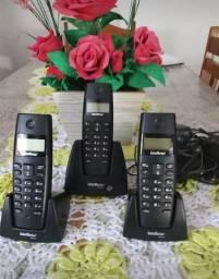 Telefone com ramal e bina nos 3