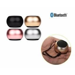 Caixa De Som Bluetooth Mini Speaker 3w Cinza Feitun Fn-0006