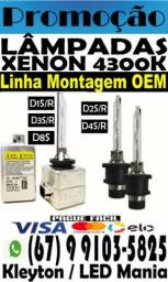 Lampadas Xenon Oem Linha de montagem. D1S, D2S, D3S, D4S.