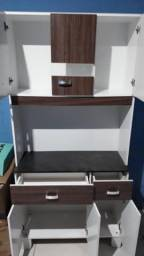 Armario de cozinha e comoda 6 gavetas