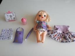 Baby alive Pequena Artista R$ 45,00