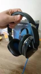 Fone de ouvido Premium Logitech UE 6000 - desgaste de uso no couro - Paranavaí ou Maringá
