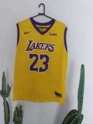 Camisa de basquete Lakers