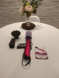 Escova rotativa beauty shine com acessorios