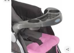 Carrinho de bebê Travel System Reverse Rosa Cosco