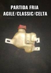 Reservatório partida fria agile/classic/celta