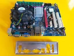 Kit Placa mão + Processador + Memória