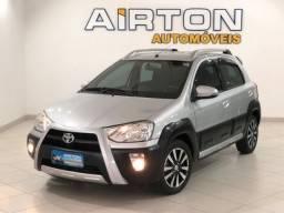 Toyota etios prata cross 1.5 único dono 2014