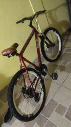 Vendo bike Caloi aro 26 alumínio 24 marchas