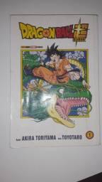 Troco mangá do dragon ball super por outro mangá da saga super.