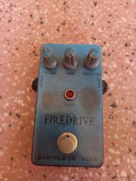 Firedrive handmade copia do BOSS SD-1 True bypass