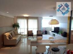 Apartamento com 3 dormitórios à venda, 95 m² por R$ 600.000 - Centro - Fortaleza/CE