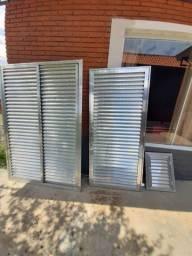 Porta Veneziana Aluminio