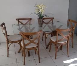 Mesa de jantar * 10 x sem juros