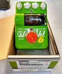Pedal Vox Streigt 6 valvulado na caixa!