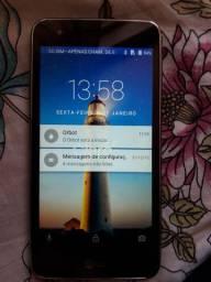 Smartphone tela grande zero brilhando 4G 2chip