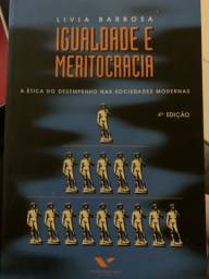 Livro Igualdade e Meritocracia